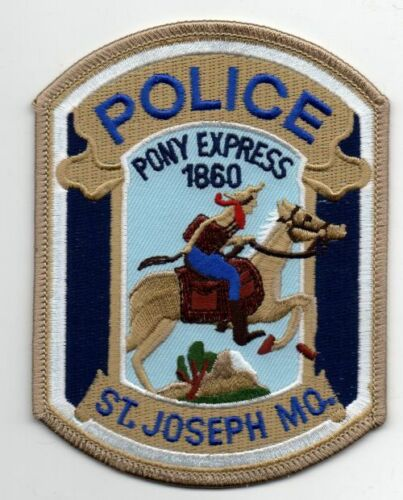 MISSOURI MO ST JOSEPH POLICE K-9 NICE PATCH SHERIFF