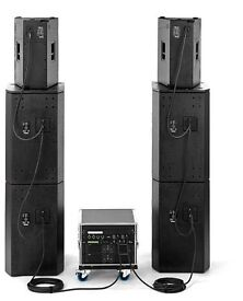 The box pro Achat Amprack open air bundle by Thomman full pa system