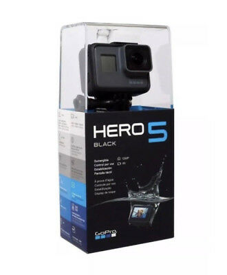 NEW - Go Pro Hero 5 Black 4K Action Camera 12MP Waterproof -Free Ship!
