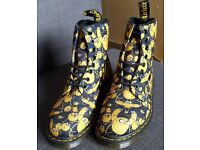 Dr Martens Adventure Time Jake The Dog Size 6 Limited Editions