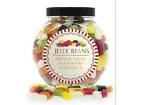 Personalised 'jelly beans' sweet jar