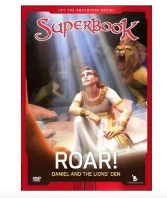 Daniel And Lion's Den (Superbook: Roar! Daniel and the Lions Den)