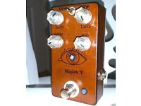 Mid-Fi Electronics - Magick 'I' Reactive Overdrive / Compressor / Boost - Neil Young In A Box - MINT