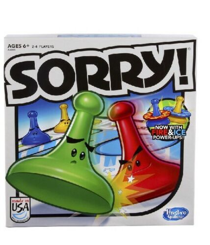 Sorry! 2013 Edition Game! Board Game Kids Family NEW Free SHIPPING