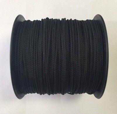 Drachenschnur Takelgarn PES 100 Meter 1,5mm (0,07€/m) schwarz