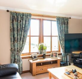 Fully Lined Curtains 90inch x 90inch (228cm x 228cm)