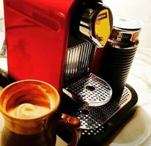 Nespresso machine with Aeroccino Milk frother