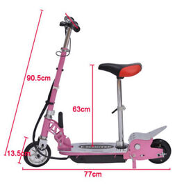 2 electric scooter for sale pink and red one they are £50 each