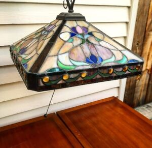 Stain Glass Dining / Living Area Light