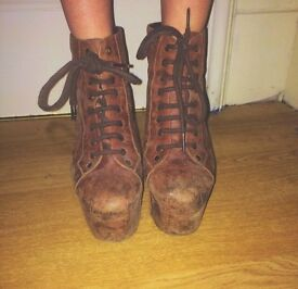 Jefferey Campbell Boot Heels
