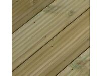 "Decking boards 4.8m long x 120mm x 32mm thick.. ( fencing boards fence posts 2x4 off saw 4"" 2"""