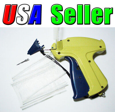 Garment Price Label Tag Tagging Gun 1000 Barbs 1 Spare Needle