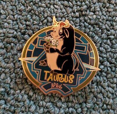 Disney Pin Zodiac POM Series April 2001 Taurus Ferdinand LE Limited Edition