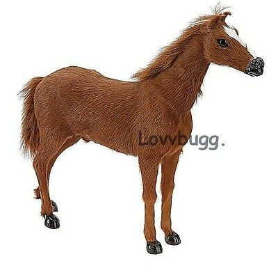 Brown Horse Foal 18 inch American Girl Doll Cowboy Cowgirl Accessory