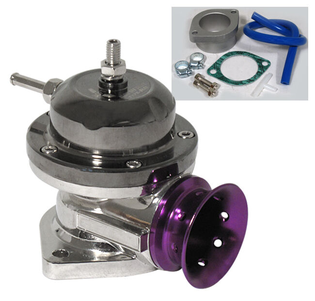 GUNMETAL TOP PURPLE LIP JDM TURBO TYPE RS BOV BLOW OFF VALVE VW GOLF JETTA GTI