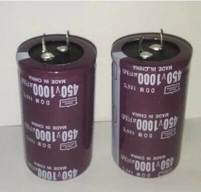 1pcs Electrolytic Capacitor 1000uf 1000 Uf 450v 3560 Mm 1000mfd 450vdc