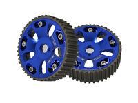91-95 Mr2 Mr-2 3Sgte Engine Motor Aluminum Cam Shaft Gear Sprocket Wheel Set Red