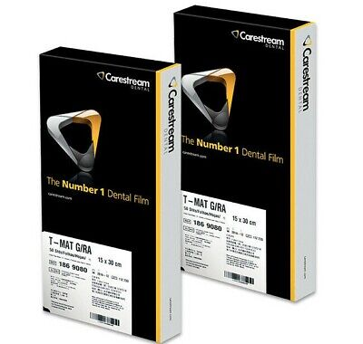 Tmg-15 186 9080 Panoramic X-ray Film 15cm X 30cm 50box By Carestream Blow Out