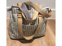 Pacapod Richmond Herringbone Changing Bag