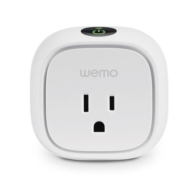 Wemo Insight Switch, Wi-Fi smart plug, control lights and ap