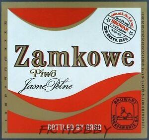 Poland Brewery Ciechanów Piwo Zamkowe Beer Label Bieretikett Cerveza ci76.1 - <span itemprop=availableAtOrFrom>Podlaskie, Polska</span> - Poland Brewery Ciechanów Piwo Zamkowe Beer Label Bieretikett Cerveza ci76.1 - Podlaskie, Polska