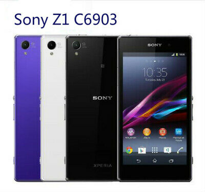 Brand New Sony Xperia Z1 C6903 4G LTE Mobile Phone 2GB RAM 16GB ROM Android