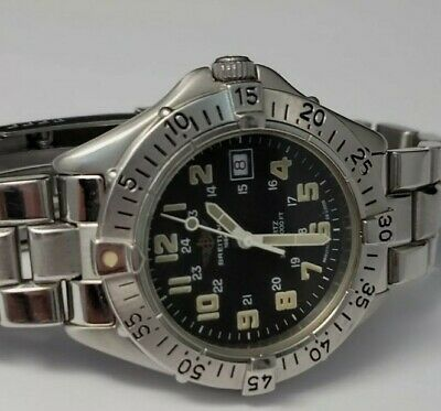 Breitling Colt A57035 Stainless Steel Boxed Men watch