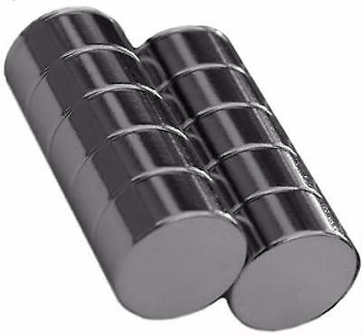 10 Neodymium Magnets 10 X 5 Mm Disc N48 Rare Earth