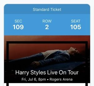 Harry Styles Live Tomorrow July 6th in Vancouver