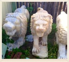 Marble Lion Garden Statues Stratton Swan Area Preview