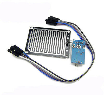 10pcs Arduino Raindrops Detection Sensor Module Humidity Rain Weather Module