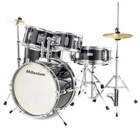 Millenium MX Jr. Junior / kids / Childrens Drumset with Remo drum heads. Not tiger, stagg, mapex,