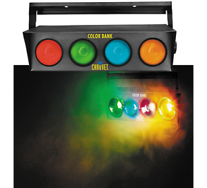 2 ~ CHAUVET DJ Color Bank ~ 4-Color Sound-Activated Light