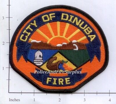 California   Dinuba Fire Dept Ca Fire Dept Patch