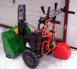 FS: Compact Mastercraft 8-22 snowblower