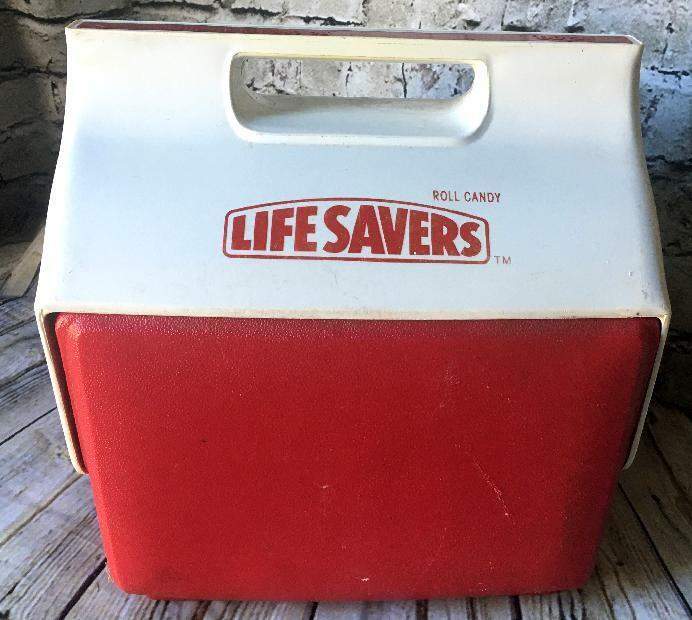 VTG LIFE SAVERS ROLL CANDY IGLOO LITTLE PLAYMATE COOLER ICE CHEST AD PROMO RARE