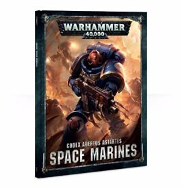 Warhammer 40k Space marine codex