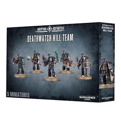 NEW-DEATHWATCH KILL TEAM 5-Man Space Marines Squad Games Workshop Warhammer 40K