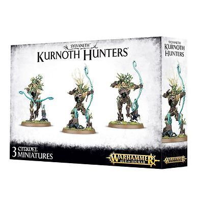 Warhammer Fantasy Age of Sigmar Wood Elves Sylvaneth Kurnoth Hunters NEW