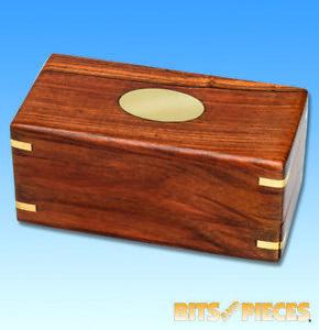 Enigma Secret Wooden Puzzle Box Brain Teaser Money Gift