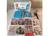 NENTENDO Wii Console, 8 Games & *Free compatible Accessories*