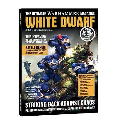 White Dwarf Magazine Issue July 2017 (new)