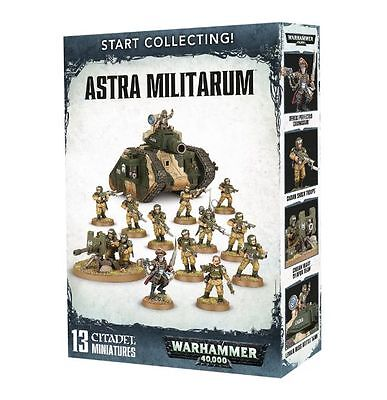Warhammer 40K Start Collecting! Astra Militarum New!