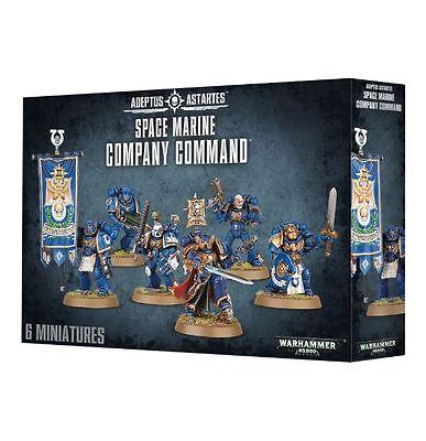 Warhammer 40k Space Marine Company Command NIB