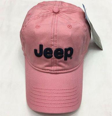 Pink Baseball Hat (New Pink  Jeep Hat Cap Women Men Unisex baseball Golf Ball Sport cap)