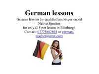 Professional German lessons