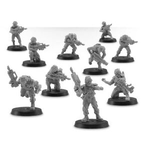 Warhammer 20 Forge World Elysian Drop Troopers New!