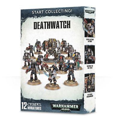 Warhammer START COLLECTING! DEATHWATCH RRP £50