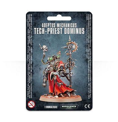 Warhammer 40k Adeptus Mechanicus Skitarii Tech Priest Dominus Brand New