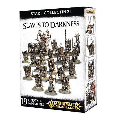 START COLLECTING! SLAVES TO DARKNESS - GAMES WORKSHOP NIB